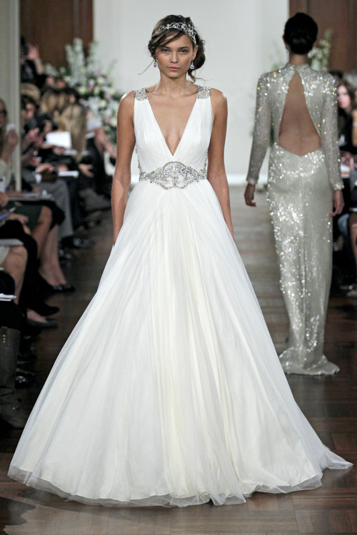JENNY PACKHAM SS13 BRIDAL FASHION WEEK 10/14/2012
