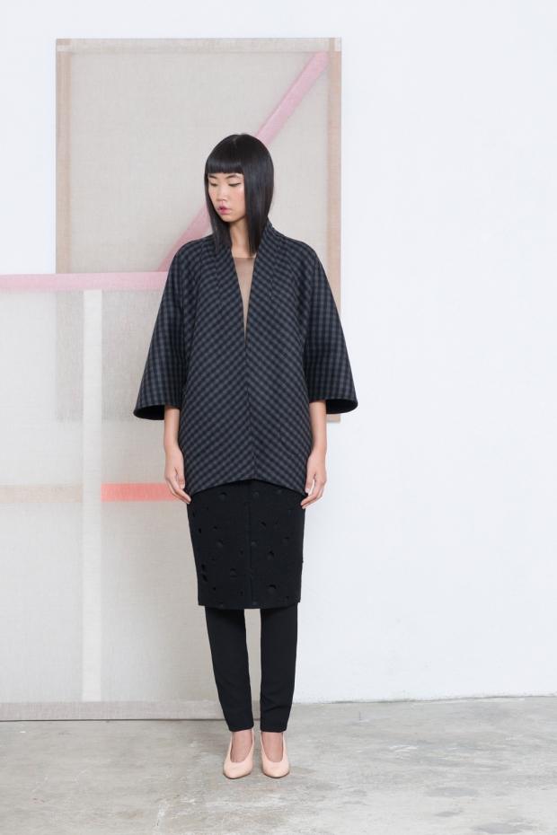 Falda emental pantalon fette y chaqueta Kimocu_1