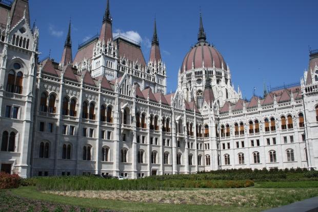 Impresionante arquitectura la del Parlamento